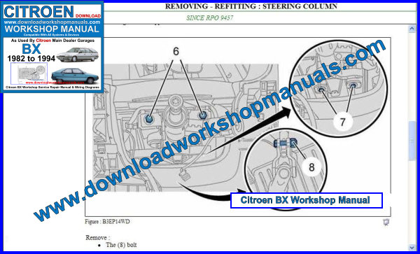Citroen BX Workshop Repair Manual