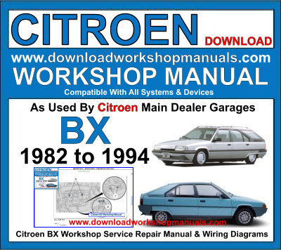 Citroen Workshop Repair Manual Download