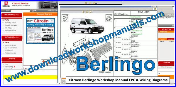 Citroen Berlingo Workshop Repair Manual