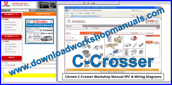 Citroen C Crosser Wiring Diagram