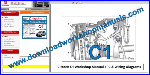 Citroen C1 Workshop Repair Manual