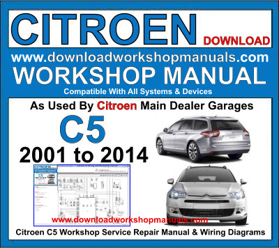 Citroen C5 Workshop Service Repair Manual | Citroen C5 Wiring Diagram Free |  | Download Workshop Manuals .com