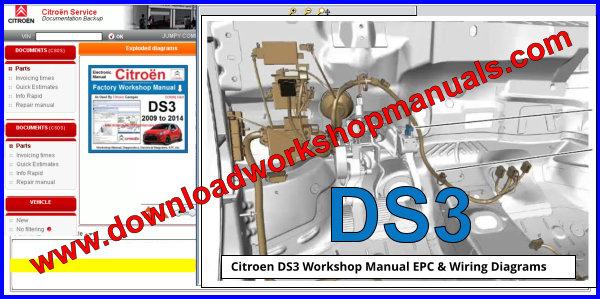 Citroen Ds3 Workshop Repair Manual