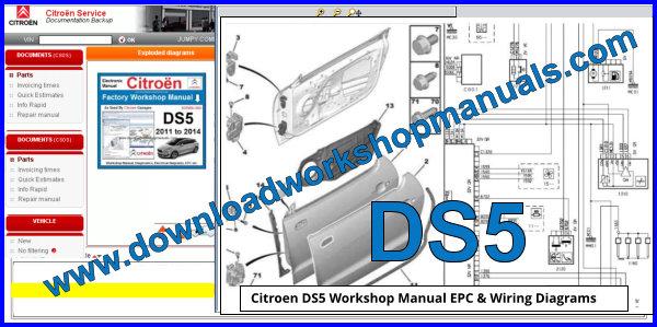 Citroen Ds5 Workshop Repair Manual