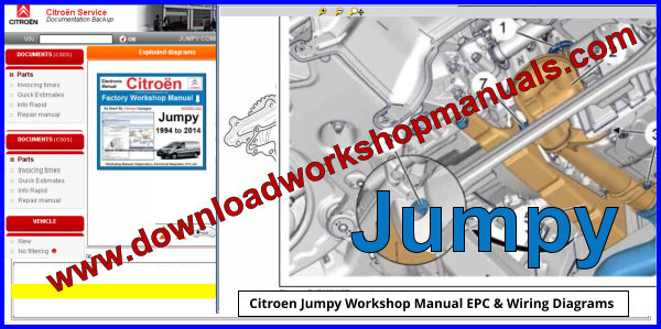 Citroen Jumpy Workshop Repair Manual