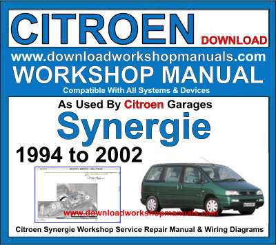 Citroen Synergie Workshop Service Repair Manual Plus Wiring Diagrams