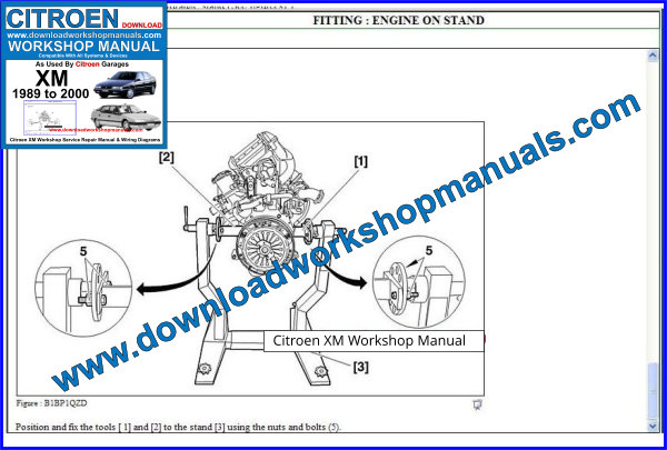 Citroen XM Workshop Manual