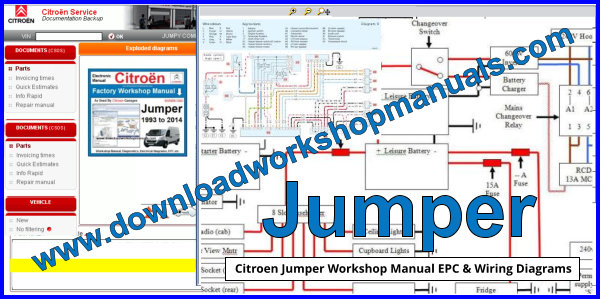 Jumper Workshop Manual EPC and Wiring Diagrams