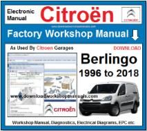 Citroen Berlingo Workshop Manual Download