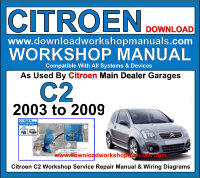 Citroen C2 Workshop Manual Download