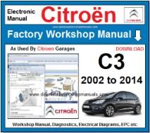 Citroen C3 Workshop Manual Download