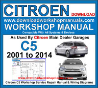 Citroen C5 Workshop Manual Download