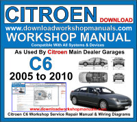 Citroen C6 Workshop Manual Download