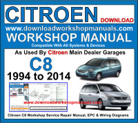 Citroen C8 Workshop Manual Download