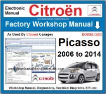 Citroen Picasso Workshop Manual Download