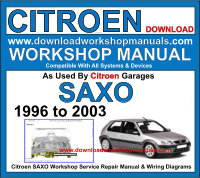 Citroen Saxo Workshop Manual Download