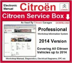Citroen Service Box Workshop Manuals Download