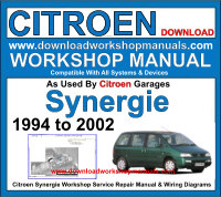 Citroen Synergie Workshop Manual Download