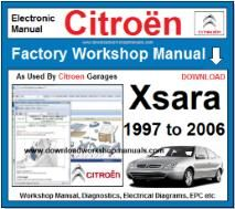 Citroen Xsara Workshop Manual Download