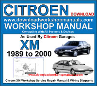 Citroen XM Workshop Manual Download