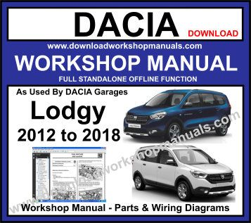 Dacia Lodgy Workshop Service Repair Manual