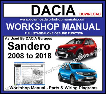 Dacia Sandero Workshop Service Repair Manual
