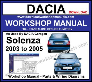 Dacia Solenza Workshop Service Repair Manual