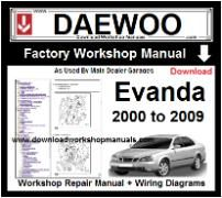 daewoo workshop manual download