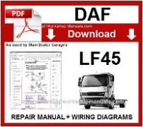 Daf  LF45 Service Repair Workshop Manual download