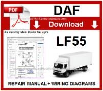 Daf  LF55 Service Repair Workshop Manual download