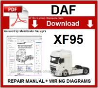 Daf XF95 Service Repair Workshop Manual download