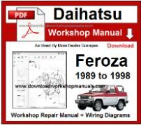 Daihatsu F300 Wiring Diagram - Wiring Schematics on
