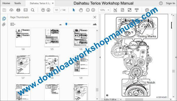 Daihatsu Terios Workshop Repair ManualDownload Workshop Manuals .com