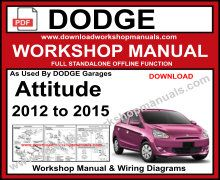 Dodge Attitude Workshop Service Repair Manual