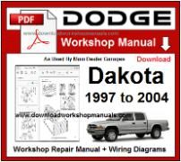 Dodge Dakota Service Repair Workshop Manual pdf