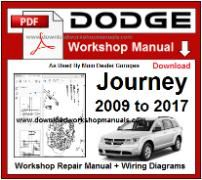 Dodge Journey Service Repair Workshop Manual pdf