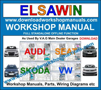Elsawin workshop service repair manual