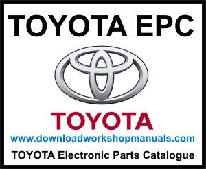 Toyota EPC electronic parts catalogue download
