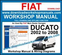 fiat freemont repair manual
