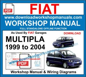Fiat Multipla workshop repair manual