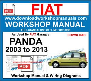 Fiat Panda workshop repair manual