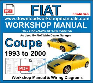 Fiat Coupe Workshop Repair ManualDownload Workshop Manuals .com
