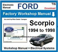 Ford Scorpio Service Repair Workshop Manual