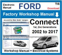 Ford Transit Connect Service Repair Workshop Manual
