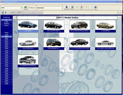 Ford electronic parts catalog download