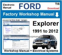 manual de servicio ford explorer 1995