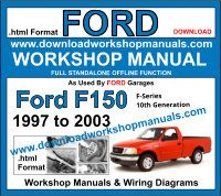 ford f150 1997 to 2003 workshop service repair manual