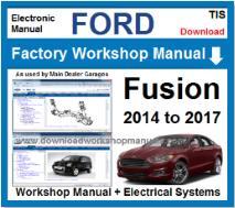 2016 ford fusion service manual