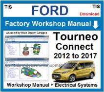 Ford Tourneo Connect Service Repair Workshop Manual