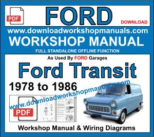 ford transit 1978 to 1976 workshop repair service manual